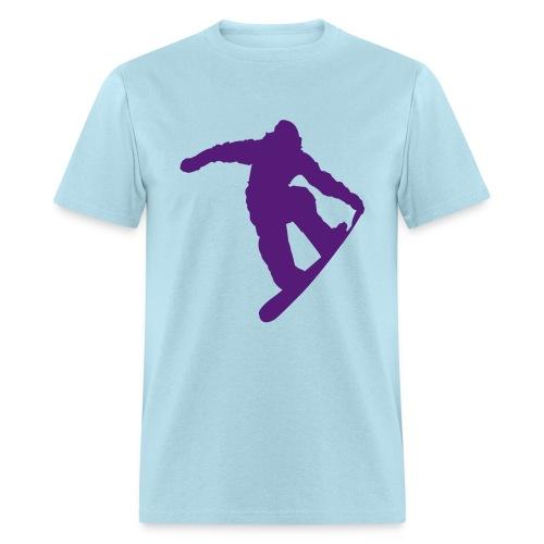 avalanche 360 logo purple - Men's T-Shirt