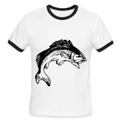 bit my hook - Men's Ringer T-Shirt