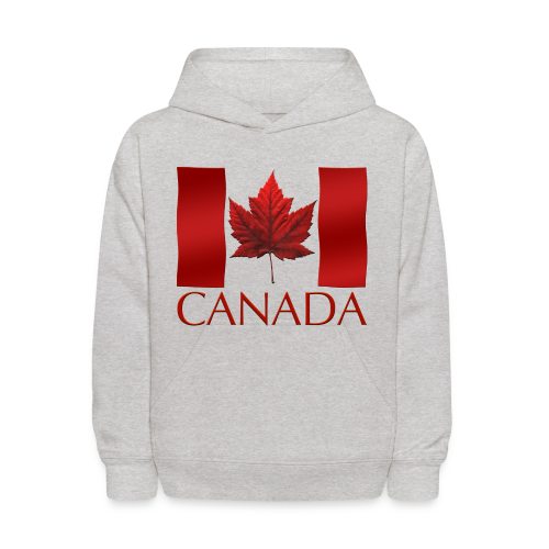 Canada Souvenir Kid's Hoodie Canadian Flag Childrens Hoodie - Kids' Hoodie