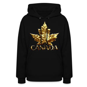 Women's Canada Hoodie Gold Medal Women's Canada Hoodie - Women's Hoodie
