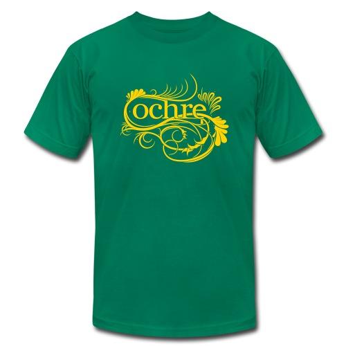 Gold Logo - Men's Fine Jersey T-Shirt
