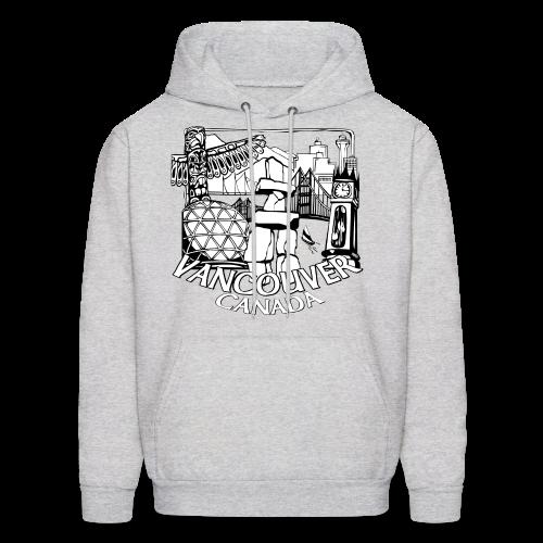 Vancouver Souvenir Hoodie Vancouver Canada Hooded Sweatshirt - Men's Hoodie