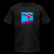 T-Shirts ~ Men's T-Shirt by American Apparel ~ Kung Fuchsia [M]
