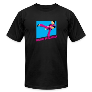 Kung Fuchsia [M] - Men's T-Shirt by American Apparel