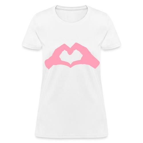 hand heart - Women's T-Shirt