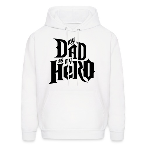 dad hero sweatshirt - Men's Hoodie