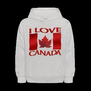 I Love Canada Kids's Hoodie Souvenir Sweatshirts - Kids' Hoodie
