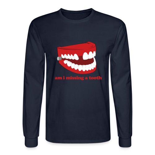 Hangover Missing Tooth - Men's Long Sleeve T-Shirt