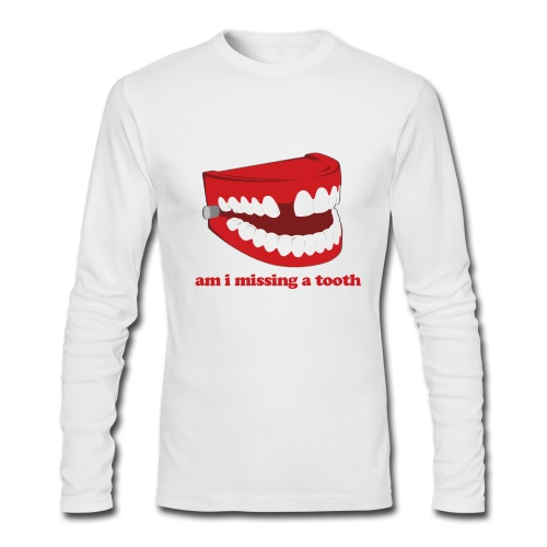 Hangover Missing Tooth - Men's Long Sleeve T-Shirt by Next Level