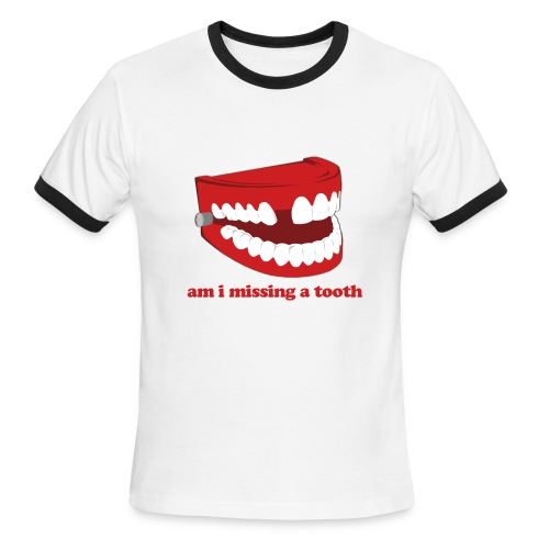Hangover Missing Tooth - Men's Ringer T-Shirt