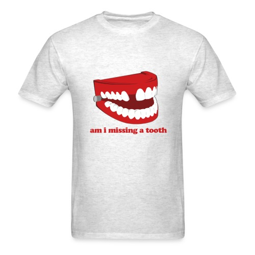 Hangover Missing Tooth - Men's T-Shirt