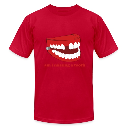 Hangover Missing Tooth - Men's  Jersey T-Shirt