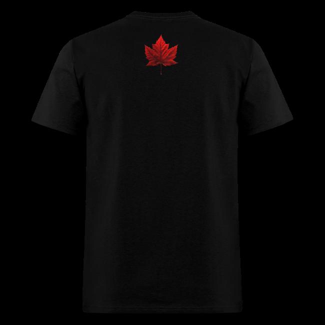 I Love Canada T-shirt Men's Shirt Canada Flag T-shirt