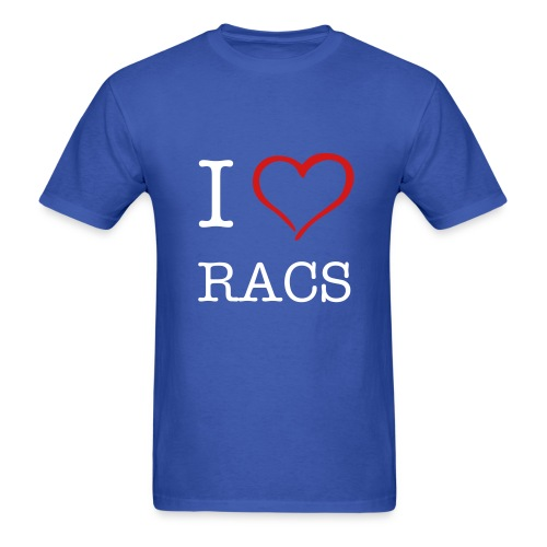 RACS - Front and Back - Men's T-Shirt