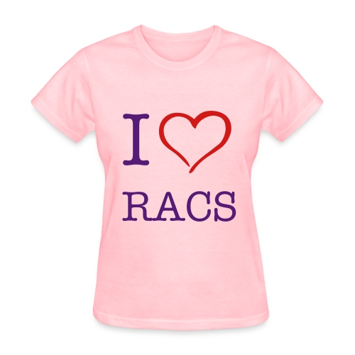 RACS - Front and Back - Women's T-Shirt