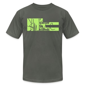 I Came to Climb. Skimble Graffiti Tee - Men's T-Shirt by American Apparel