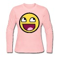 Awesome Smiley Long Sleeve Shirts