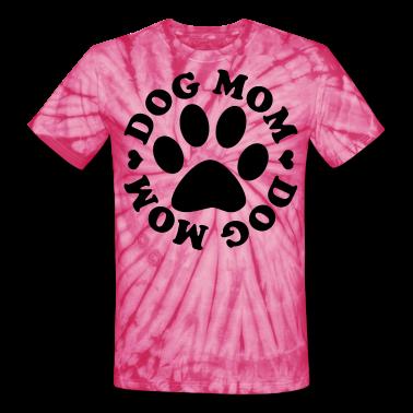 Dog Mom Paw T-Shirts