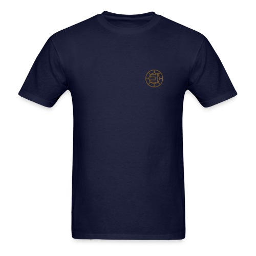 Shinkenger - Gold Zushi Shirt (Navy) - Men's T-Shirt