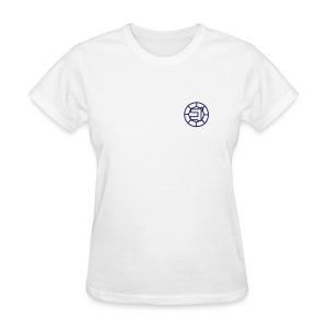 [Womens] Shinkenger - Gold Zushi Shirt (White) - Women's T-Shirt