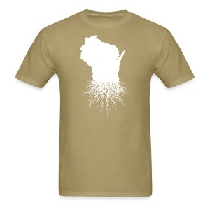 Wisconsin Roots - Men's T-Shirt