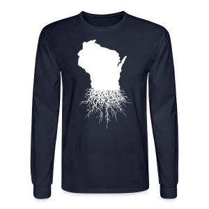 Wisconsin Roots - Men's Long Sleeve T-Shirt
