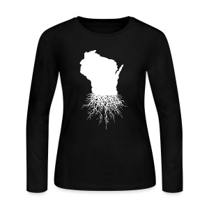 Wisconsin Roots - Women's Long Sleeve Jersey T-Shirt