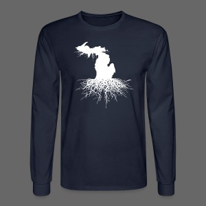Michigan Roots Men's Long Sleeve T-Shirt - Men's Long Sleeve T-Shirt