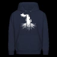 Hoodies ~ Men's Hoodie ~ Michigan Roots Men's Hooded Sweatshirt