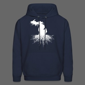 Michigan Roots Men's Hooded Sweatshirt - Men's Hoodie