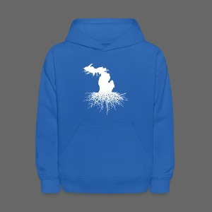 Michigan Roots Kid's Hooded Sweatshirt - Kids' Hoodie