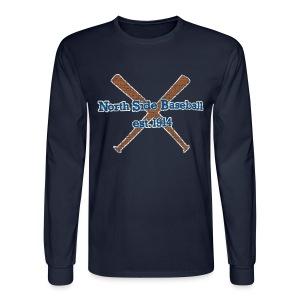 North Side Baseball EST. 1914 - Men's Long Sleeve T-Shirt