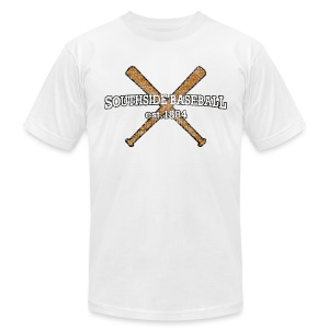 Southside Baseball EST. 1884 - Men's T-Shirt by American Apparel