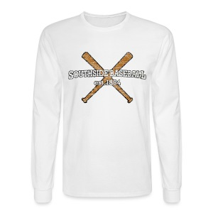 Southside Baseball EST. 1884 - Men's Long Sleeve T-Shirt