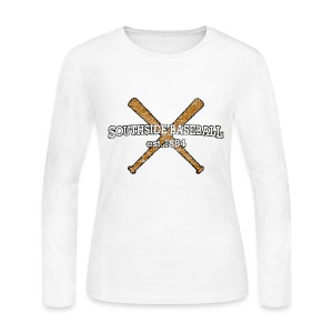 Southside Baseball EST. 1884 - Women's Long Sleeve Jersey T-Shirt
