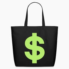 US Dollar Sign Bags