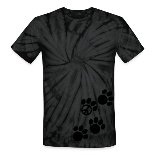Puppy Happy - Unisex Tie Dye T-Shirt
