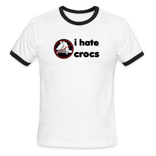 Crazy Croc Tee - Men's Ringer T-Shirt