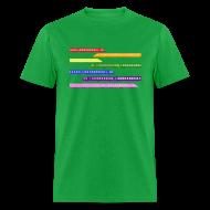 T-Shirts ~ Men's T-Shirt ~ Color Trains
