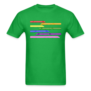 Color Trains - Men's T-Shirt