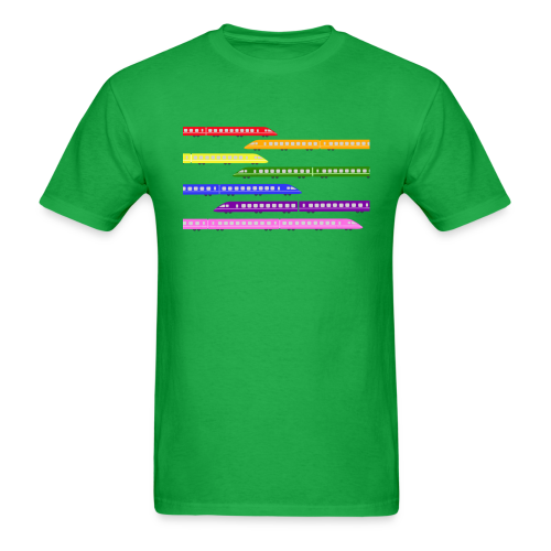 Color Trains - Men's T-Shirt