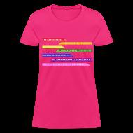T-Shirts ~ Women's T-Shirt ~ Color Trains
