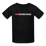 Kids' Shirts ~ Kids' T-Shirt ~ Kundiman Logo - Children's T-Shirt, White Logo