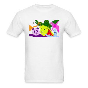 Animals and Banana - Men's T-Shirt