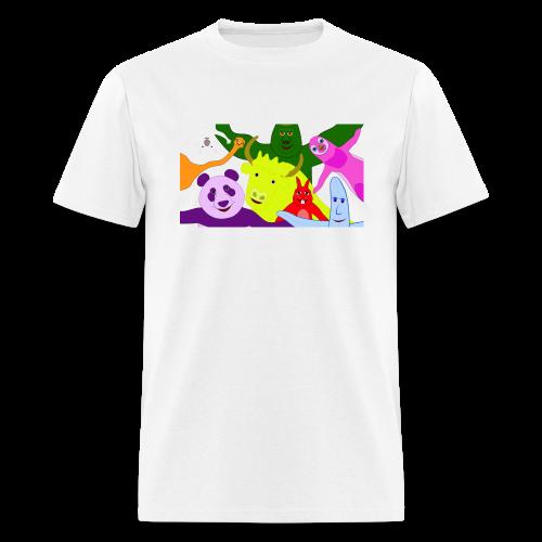 Animals and Banana - Men's T-Shirt