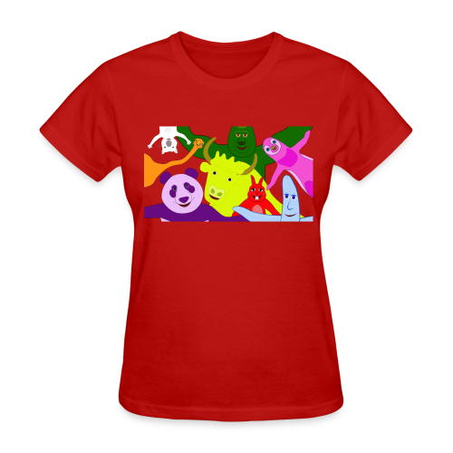 Animals and Banana - Women's T-Shirt