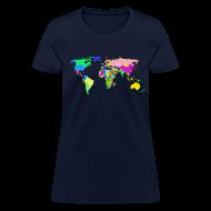 Women's T-Shirts ~ Women's T-Shirt ~ The World