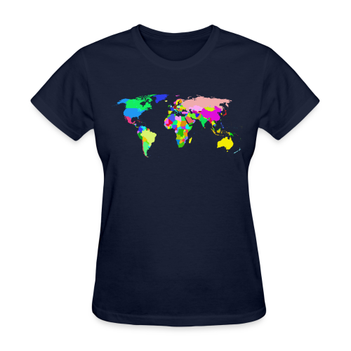 The World - Women's T-Shirt