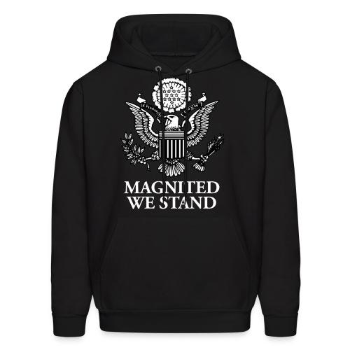 Magnited We Stand - Black Hoodie - Men's Hoodie