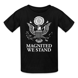 Magnited We Stand - Black Kids - Kids' T-Shirt